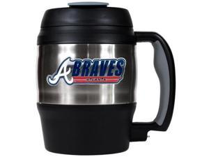 Atlanta Braves - MLB 52oz. Stainless Steel Macho Travel Mug with Bottle Opener