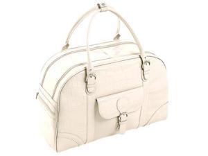 Siamod Monterosso Buranco Leather Ladies' Duffel Bag