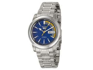 Seiko 5 Blue Automatic Mens Watch SNKK27