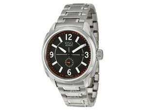 ESQ Excel Black Dial Stainless Steel Mens Watch 07301407