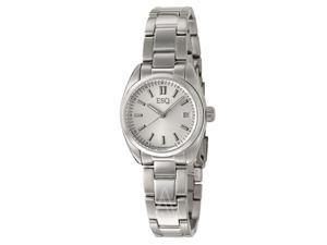 ESQ 07101353 Stainless Steel Sport Classic Silver Tone Dial
