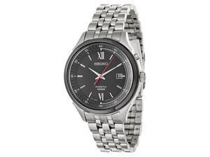 Seiko SKA659 Silver Stainless-Steel Kinetic Men's Watch
