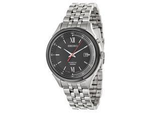 Seiko SKA659 Silver Stainless-Steel Kinetic Men's Watch