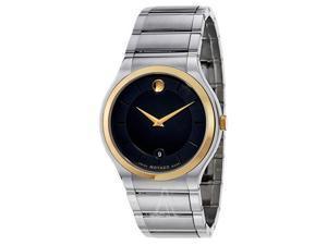 Movado Quadro Men's Quartz Watch 0606954