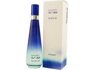 COOL WATER WAVE by Davidoff EDT SPRAY 3.4 OZ for WOMEN