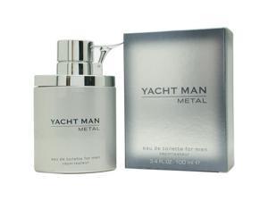 Yacht Man Metal - 3.4 oz EDT Spray