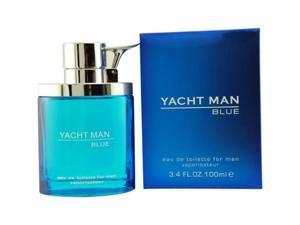 Yacht Man Blue - 3.4 oz EDT Spray
