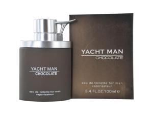 Yacht Man Chocolate - 3.4 oz EDT Spray