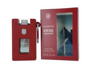 Victorinox Swiss Unlimited By Victorinox Edt Spray Refillable Rubber Bottle 2.5 Oz
