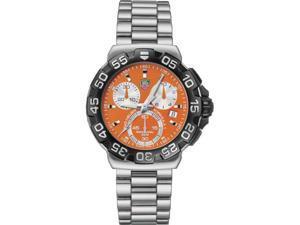 Tag Heuer Formula One F1 Chronograph Steel Orange Mens Watch CAH1113.BA0850