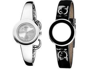 Gucci Steel Gift Set Bangle Ladies Watch YA129502