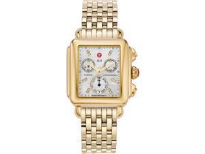 Michele Deco Day Diamond Gold-tone Ladies Watch MWW06P000016