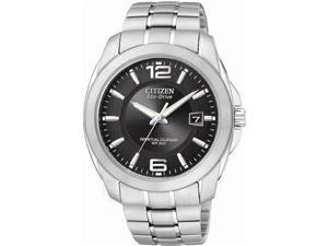 Citizen Eco Drive Mens Perpetual Stainless Steel