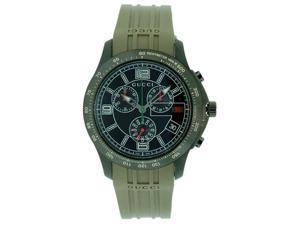 Gucci Rubber Chronograph Mens Watch YA126207