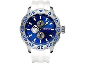 Nautica Multifunction BFD 100 Black Dial Men's watch #N15567G