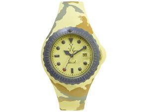 Toy Watch Jelly Army Yellow Camo JYA03SY