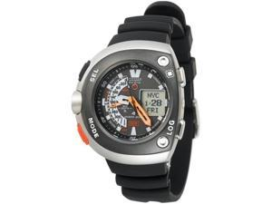 Citizen Aqualand Eco Drive Dive Log Stainless Steel