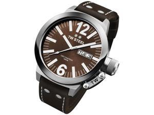 TW Steel CEO 45 MM Brown Dial Mens Watch CE1009