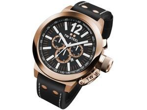TW Steel CEO Canteen 50 MM Black Dial Chronograph Mens Watch CE1024