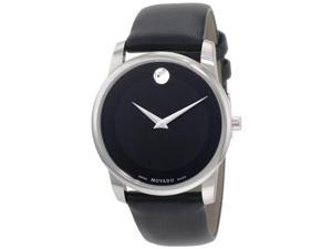 Movado Museum Leather   Mens Watch 0606502