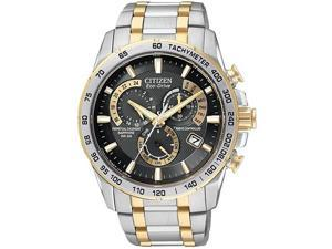 Citizen Eco-Drive   Chronograph Two-Tone Mens   Watch AT4004-52E