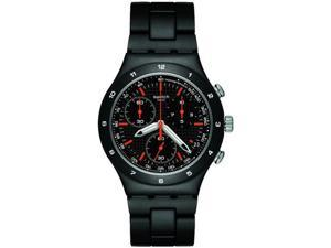 Swatch Black Coat Mens Watch   YCB4019AG