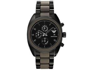 Emporio Armani Chronograph   Silicone Mens Watch AR5953