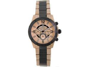 Invicta Reserve Chronograph 18k Rose Gold-Tone Mens Watch 1424