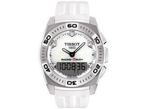 Tissot Racing Touch White Rubber Mens Watch T0025201711100