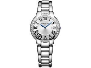 Raymond Weil Jasmine Diamond Silver Dial Steel Ladies Watch 5235-STS-00659