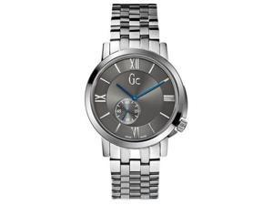 Guess Collection GC SlimClass Grey Dial Stainless Steel Mens Watch X59004G5S