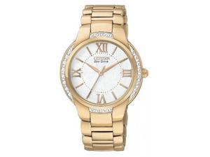 Citizen Eco-Drive Ciena Gold-Tone Ladies Watch EM0093-59A