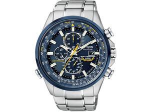 Citizen Mens Chronograph A-T Eco Drive World Time Oversized AT8020-54L Watch