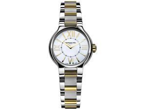 Raymond Weil Noemia Two-tone Roman Numerals Dial Ladies Watch 5932-STP-00907