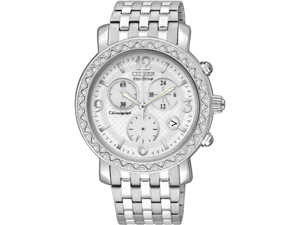 Citizen Eco-Drive Swarovski Crystal Chronograph Ladies Watch FB1290-58A