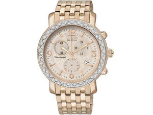 Citizen Eco-Drive Swarovski Crystal Chronograph Ladies Watch FB1293-50A