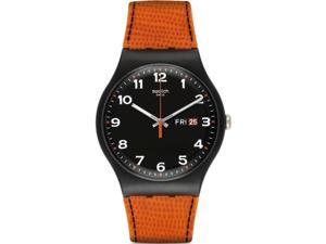 Swatch Originals Faux Fox Black Dial Unisex Watch SUOB709