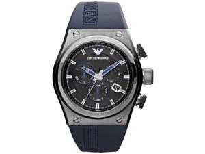 Emporio Armani Stylesport Chronograph Rubber Mens Watch AR6104