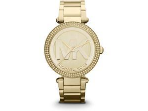 Michael Kors Parker Champagne Dial Gold-tone Watch MK5784
