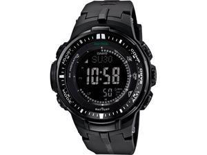 Casio Pro Trek Triple Sensor Solar Mens Watch PRW3000-1ACR