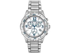 Citizen Eco-Drive Stainless Steel Chronograph Ladies Watch FB1350-58A