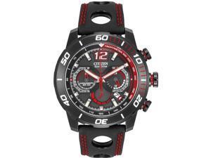 Citizen Eco-Drive Primo Stingray 620 Leather Mens Watch CA4085-08E