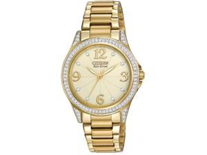 Citizen Drive POV Gold-Tone Ladies Watch EM0232-54P