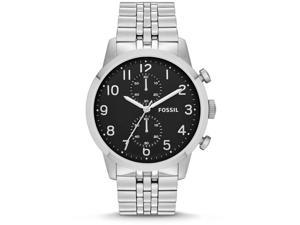 Fossil Townsman Stainless Steel Chronograph Mens Watch FS4875