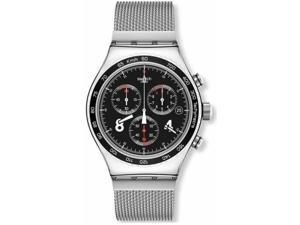 Swatch Blackie Chronograph Mens Watch YVS401GB