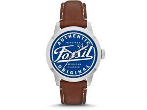 Fossil Townsman Special Edition Leather Mens Watch FS4897