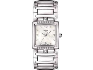 Tissot T-Evocation Stainless Steel Diamond Ladies Watch T0513106111700