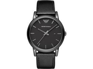 Emporio Armani Luigi Leather Mens Watch AR1732