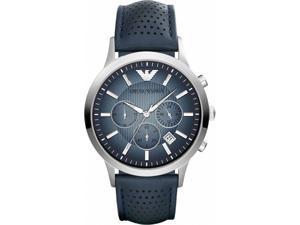 Emporio Armani AR2473 Renato Leather Chronograph Men's Watch
