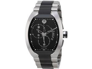 Movado Verto Steel and Black PVD Mens Watch 0606699